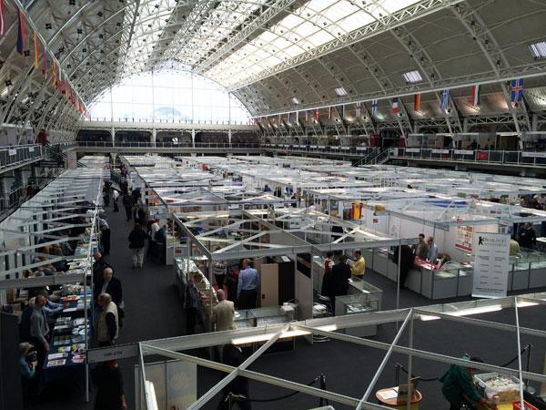 Филателистическая выставка в Лондоне май 2015